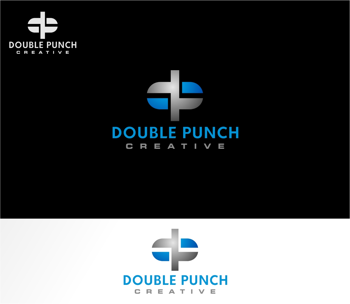 Logo Design by haidu - Entry No. 110 in the Logo Design Contest Unique Logo Design Wanted for Double Punch Creative.
