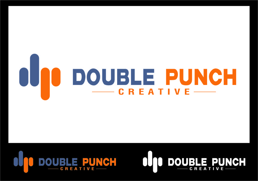 Logo Design by Ngepet_art - Entry No. 112 in the Logo Design Contest Unique Logo Design Wanted for Double Punch Creative.