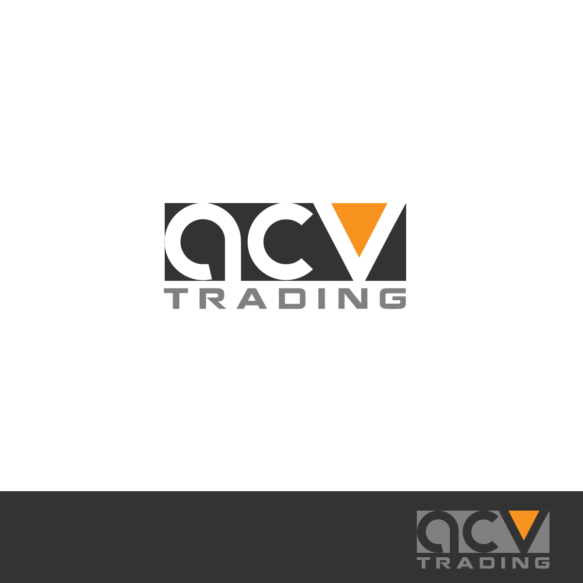 Logo Design by rockin - Entry No. 3 in the Logo Design Contest Fun Logo Design for ACV Trading.