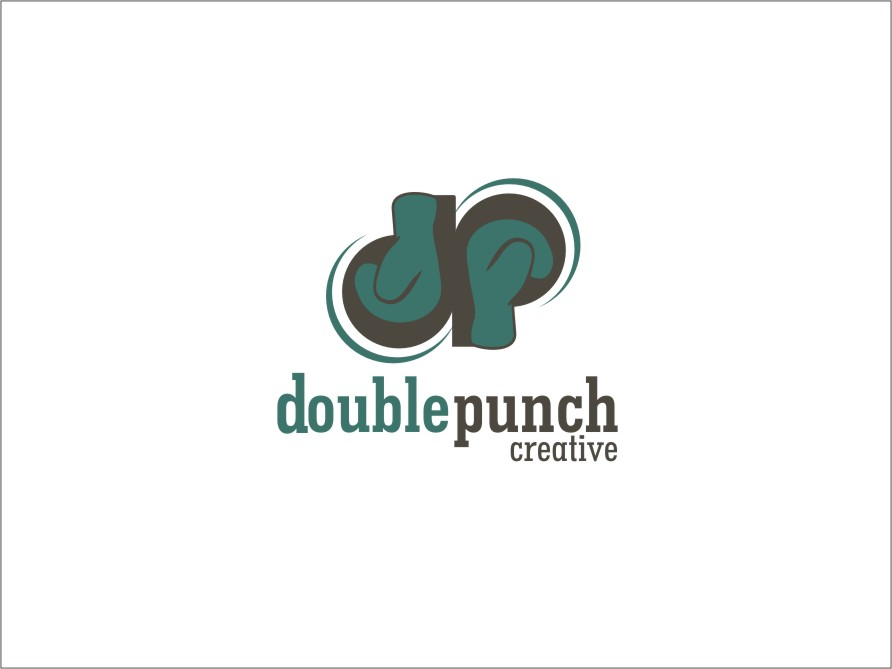 Logo Design by RED HORSE design studio - Entry No. 129 in the Logo Design Contest Unique Logo Design Wanted for Double Punch Creative.