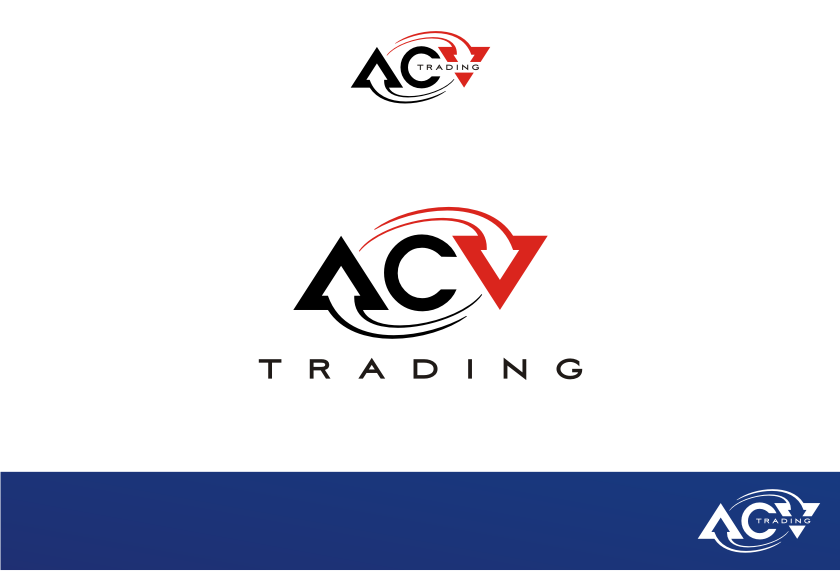 Logo Design by Muhammad Nasrul chasib - Entry No. 11 in the Logo Design Contest Fun Logo Design for ACV Trading.