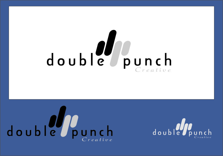Logo Design by Ngepet_art - Entry No. 137 in the Logo Design Contest Unique Logo Design Wanted for Double Punch Creative.