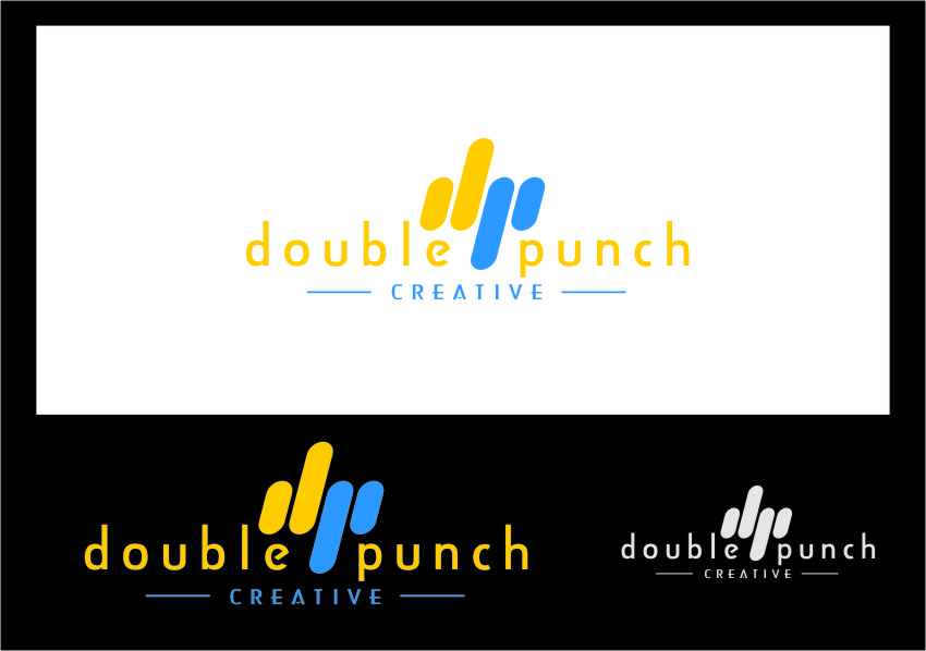 Logo Design by RoSyid Rono-Rene On Java - Entry No. 138 in the Logo Design Contest Unique Logo Design Wanted for Double Punch Creative.