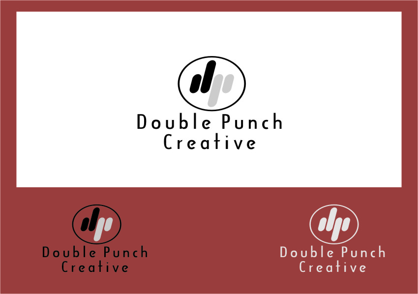 Logo Design by RasYa Muhammad Athaya - Entry No. 139 in the Logo Design Contest Unique Logo Design Wanted for Double Punch Creative.