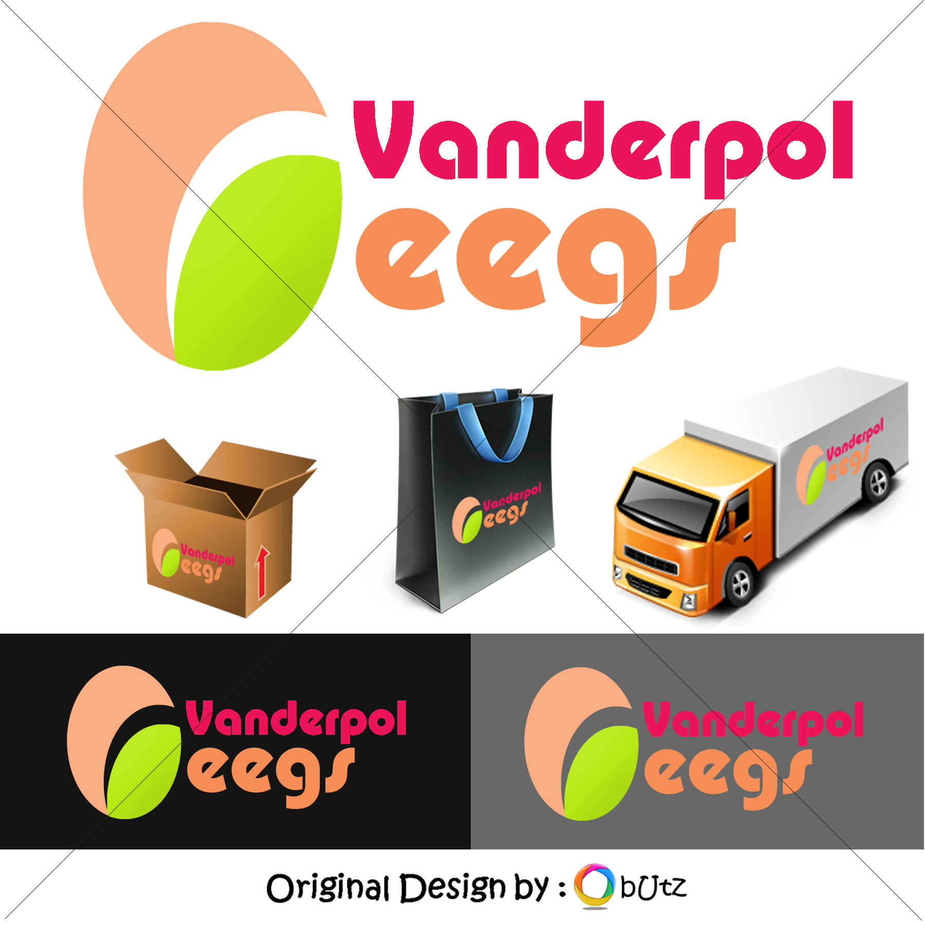 Logo Design by Butz Udy - Entry No. 78 in the Logo Design Contest Creative Logo Design for Vanderpol Food Group.
