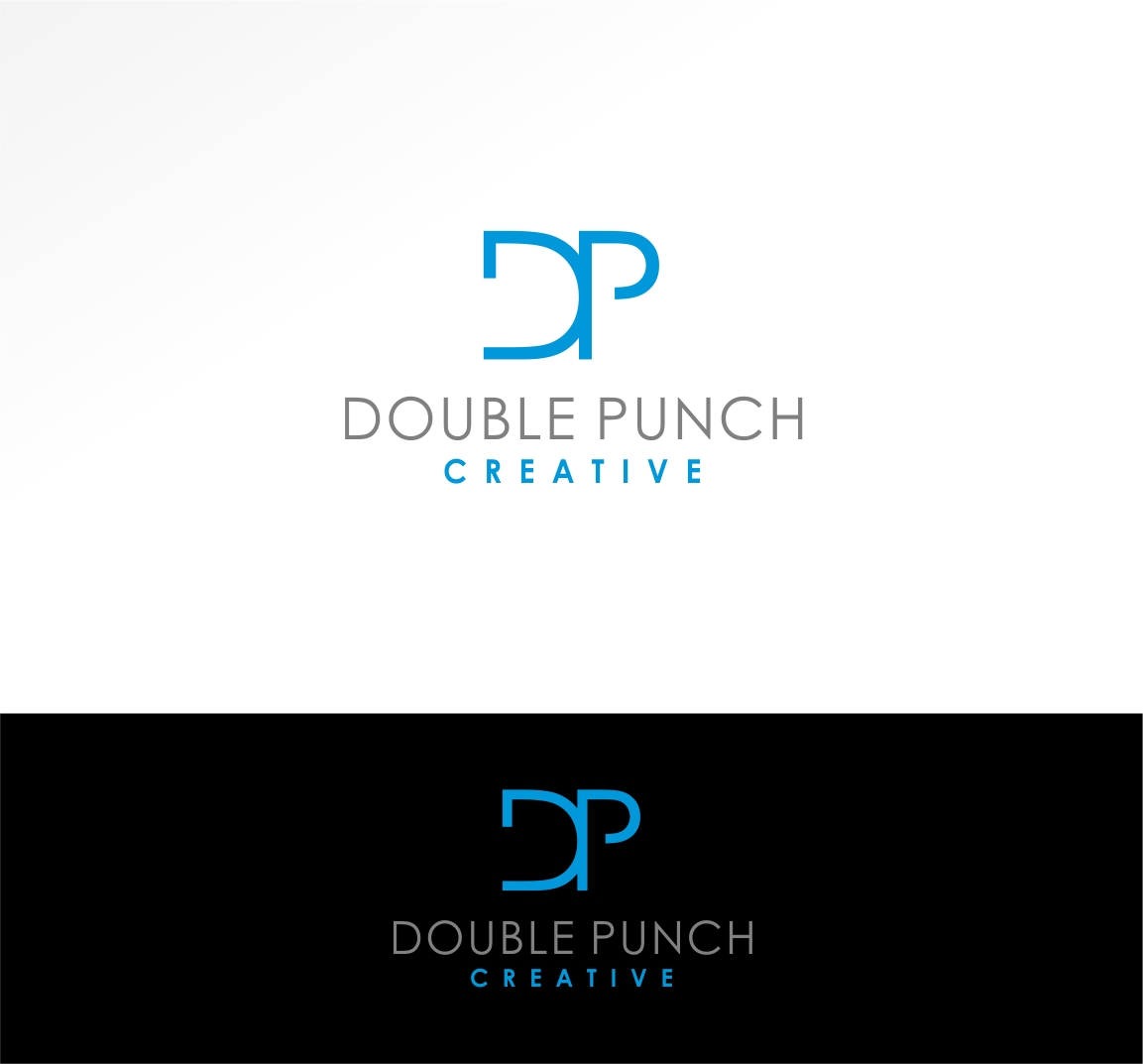 Logo Design by haidu - Entry No. 146 in the Logo Design Contest Unique Logo Design Wanted for Double Punch Creative.