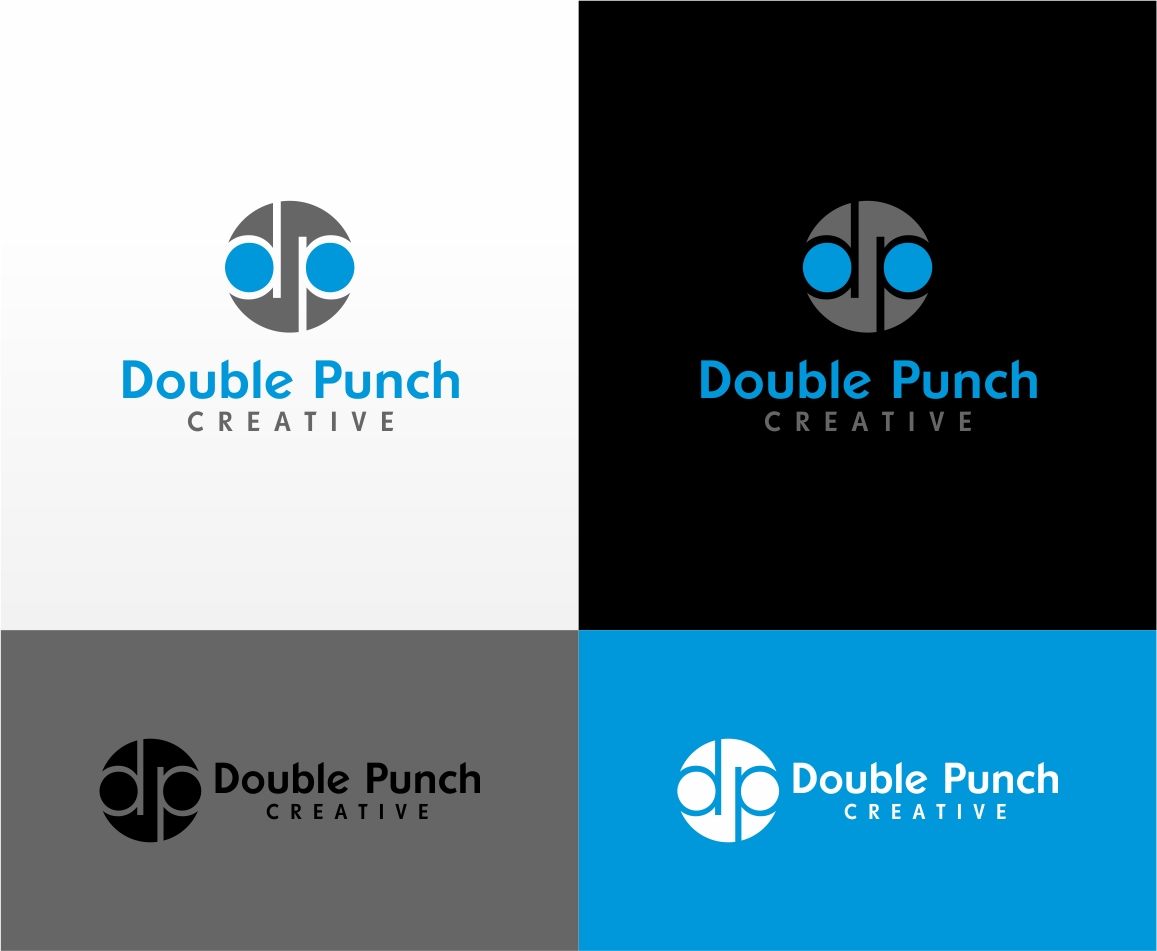 Logo Design by haidu - Entry No. 151 in the Logo Design Contest Unique Logo Design Wanted for Double Punch Creative.