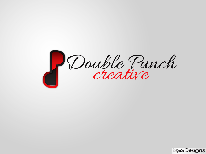 Logo Design by Mythos Designs - Entry No. 160 in the Logo Design Contest Unique Logo Design Wanted for Double Punch Creative.
