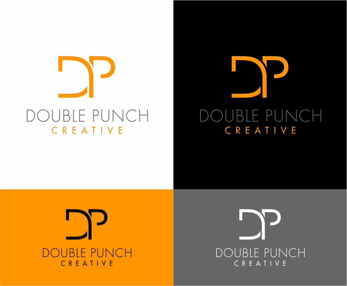 Logo Design by haidu - Entry No. 163 in the Logo Design Contest Unique Logo Design Wanted for Double Punch Creative.