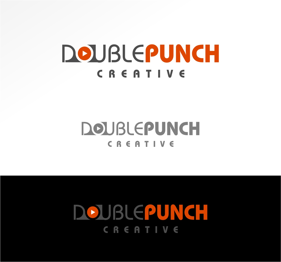 Logo Design by haidu - Entry No. 164 in the Logo Design Contest Unique Logo Design Wanted for Double Punch Creative.