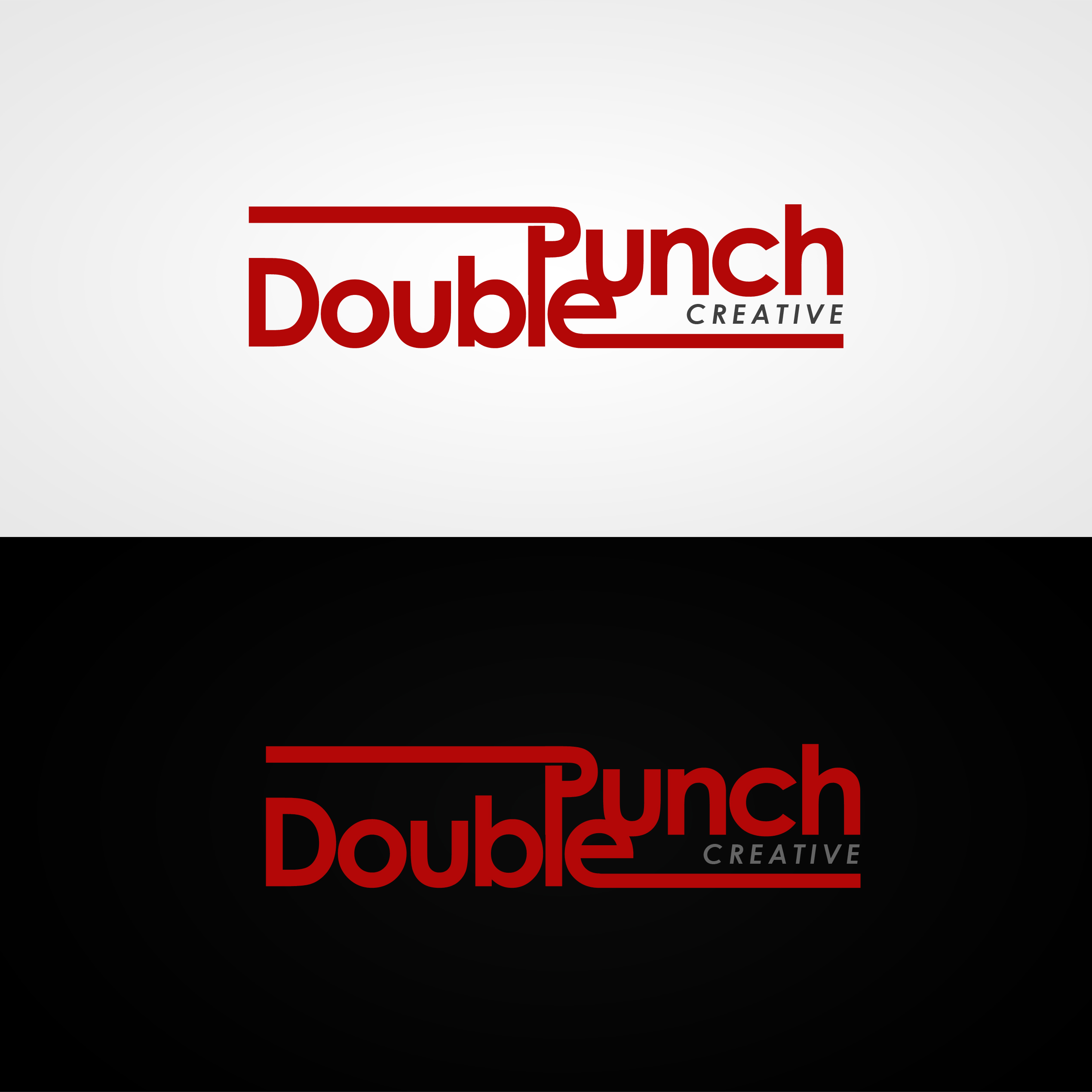 Logo Design by omARTist - Entry No. 174 in the Logo Design Contest Unique Logo Design Wanted for Double Punch Creative.