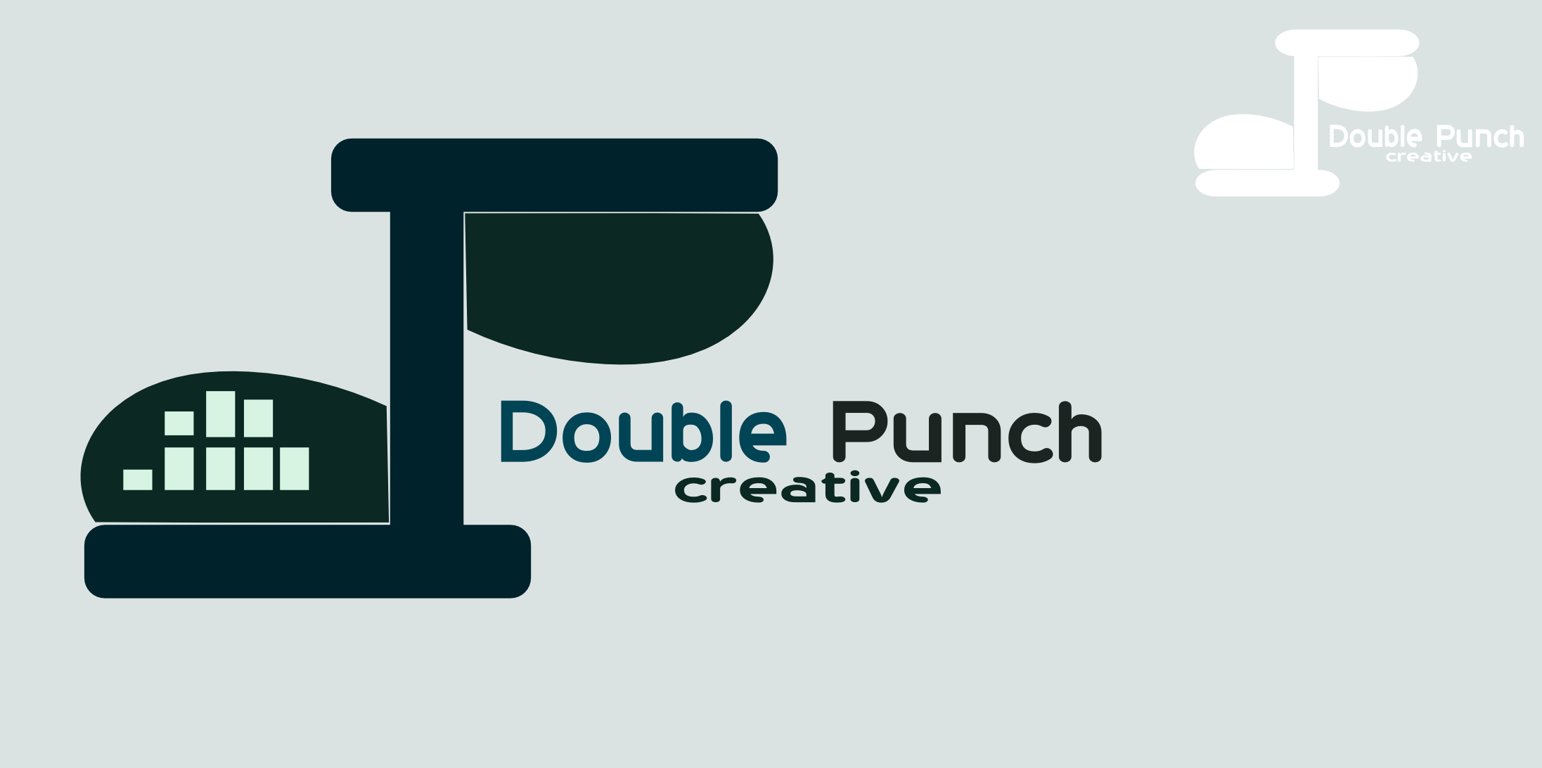 Logo Design by Arindam Khanda - Entry No. 175 in the Logo Design Contest Unique Logo Design Wanted for Double Punch Creative.