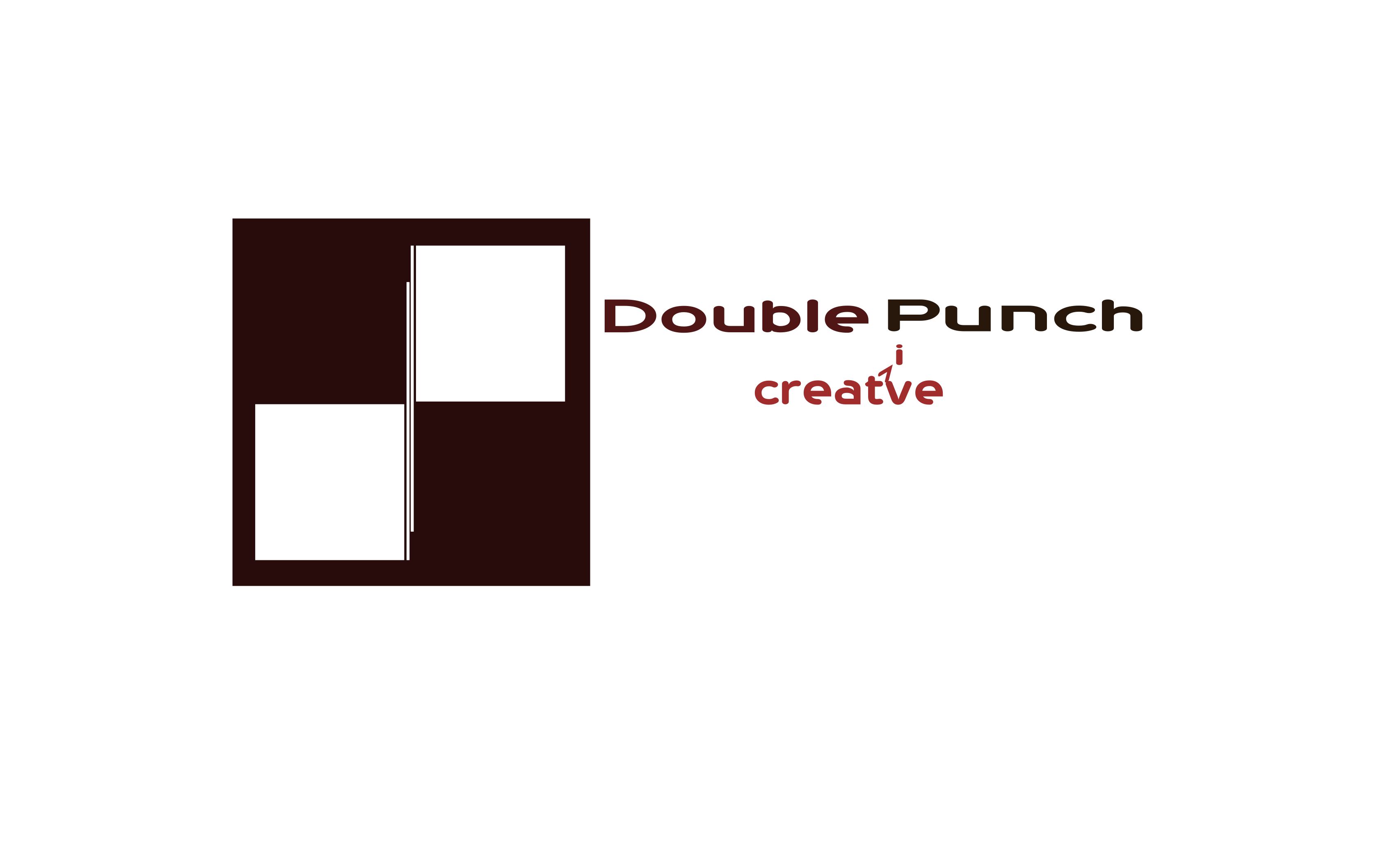 Logo Design by Arindam Khanda - Entry No. 176 in the Logo Design Contest Unique Logo Design Wanted for Double Punch Creative.