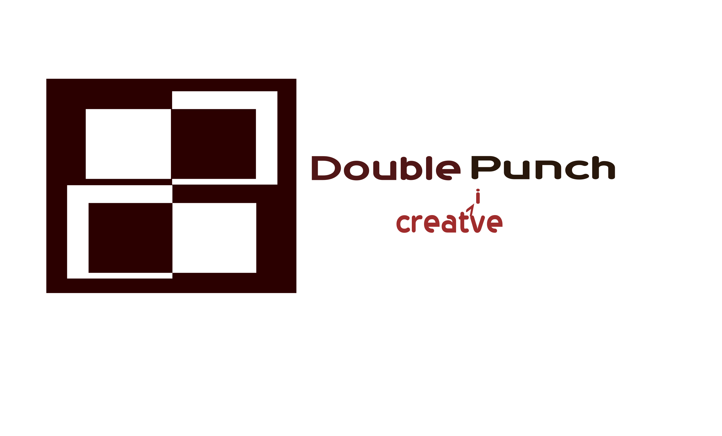 Logo Design by Arindam Khanda - Entry No. 177 in the Logo Design Contest Unique Logo Design Wanted for Double Punch Creative.