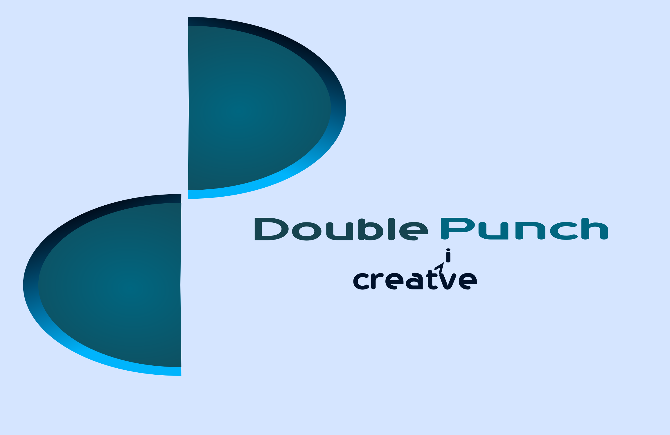 Logo Design by Arindam Khanda - Entry No. 181 in the Logo Design Contest Unique Logo Design Wanted for Double Punch Creative.