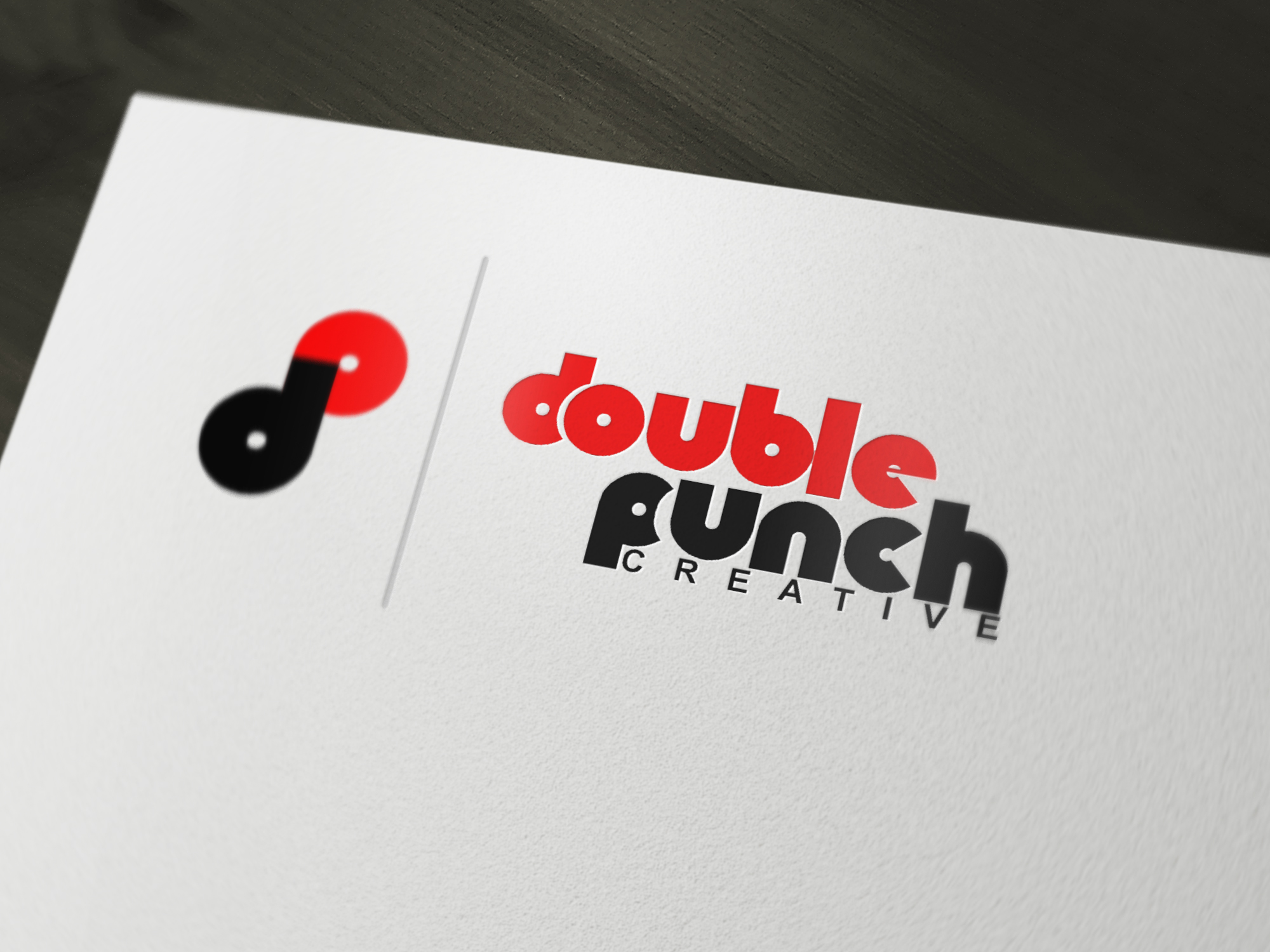 Logo Design by Private User - Entry No. 183 in the Logo Design Contest Unique Logo Design Wanted for Double Punch Creative.