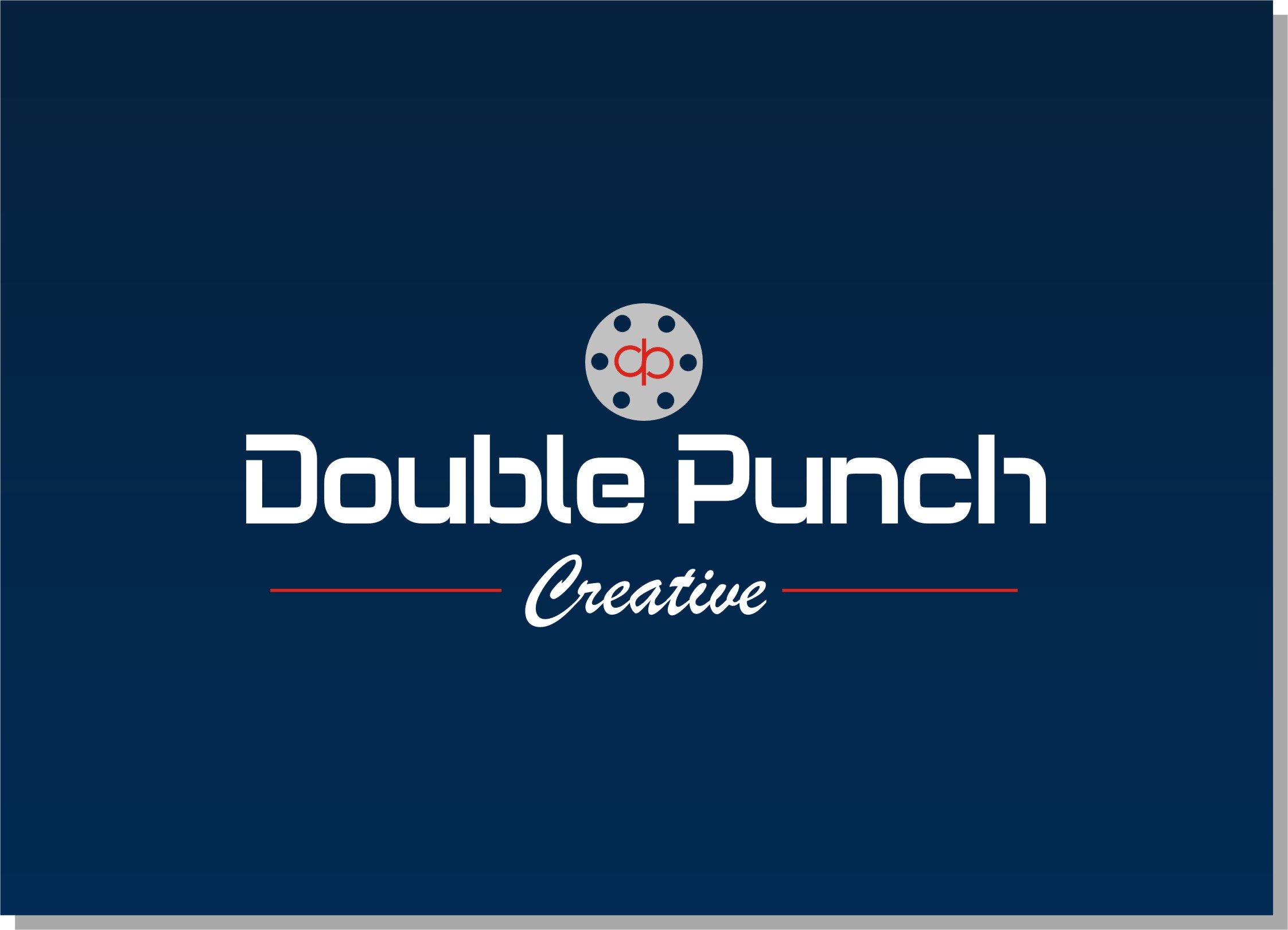 Logo Design by Crystal Desizns - Entry No. 197 in the Logo Design Contest Unique Logo Design Wanted for Double Punch Creative.