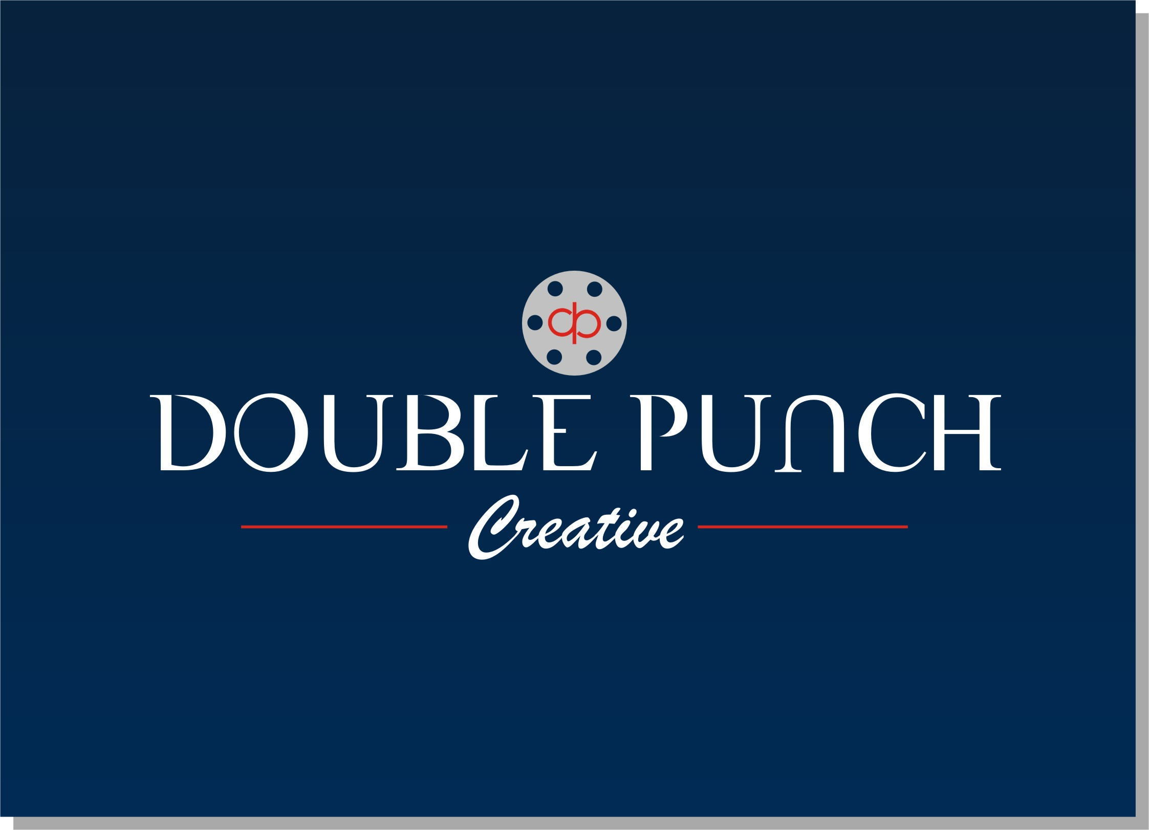 Logo Design by Crystal Desizns - Entry No. 198 in the Logo Design Contest Unique Logo Design Wanted for Double Punch Creative.