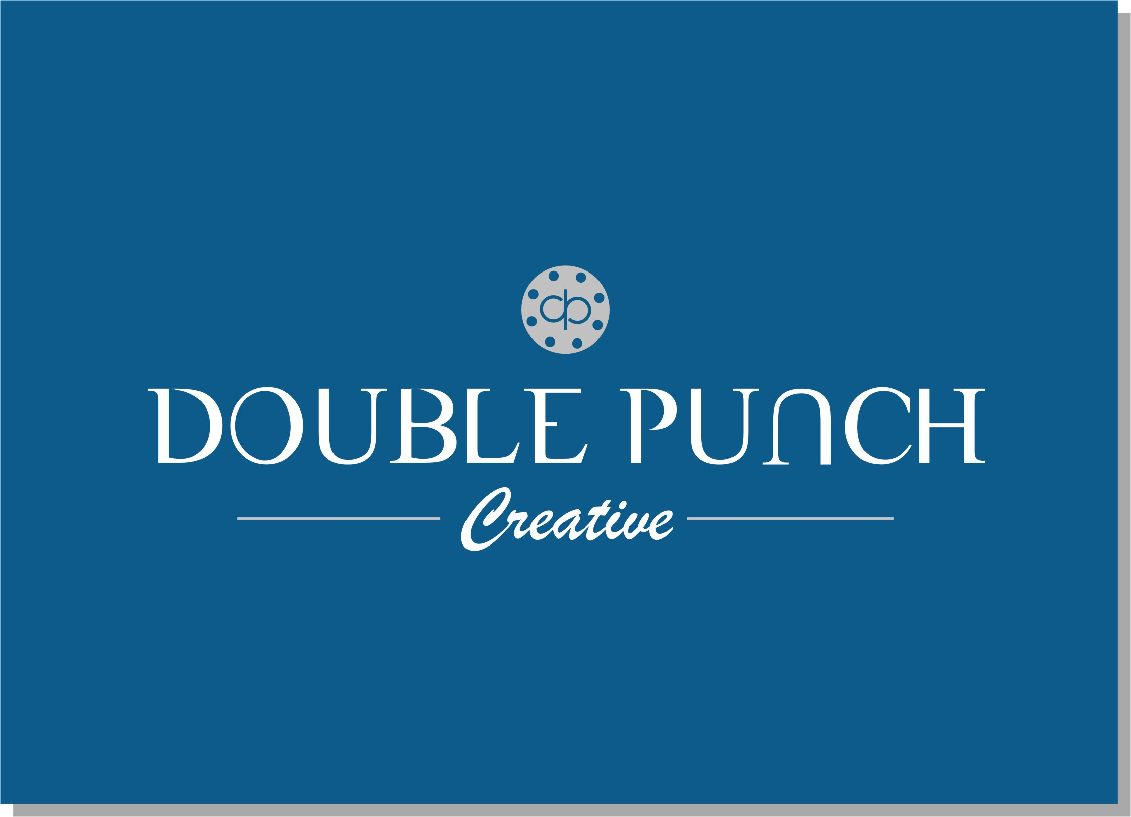 Logo Design by Crystal Desizns - Entry No. 199 in the Logo Design Contest Unique Logo Design Wanted for Double Punch Creative.