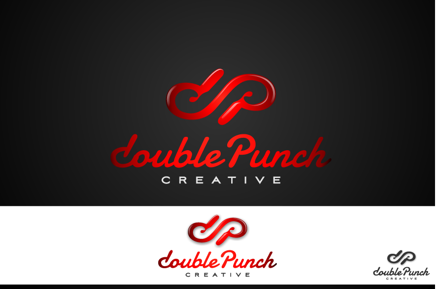 Logo Design by graphicleaf - Entry No. 205 in the Logo Design Contest Unique Logo Design Wanted for Double Punch Creative.
