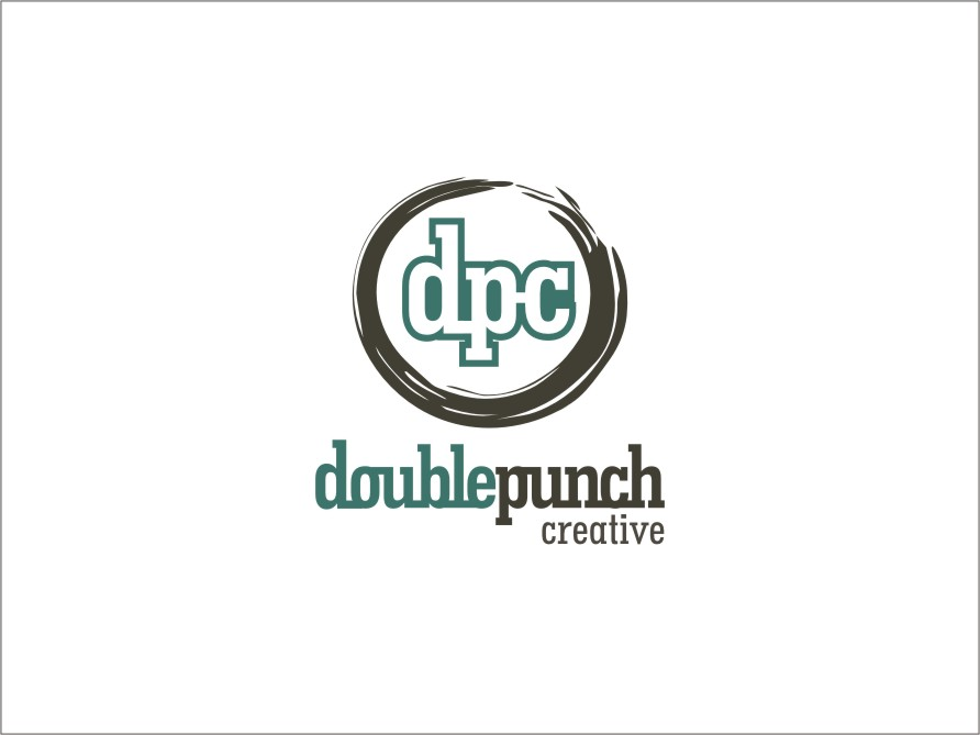 Logo Design by RED HORSE design studio - Entry No. 206 in the Logo Design Contest Unique Logo Design Wanted for Double Punch Creative.