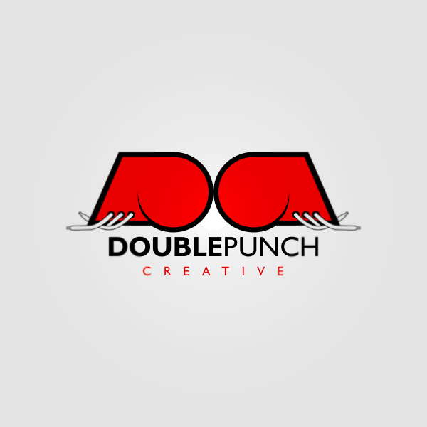 Logo Design by Private User - Entry No. 208 in the Logo Design Contest Unique Logo Design Wanted for Double Punch Creative.
