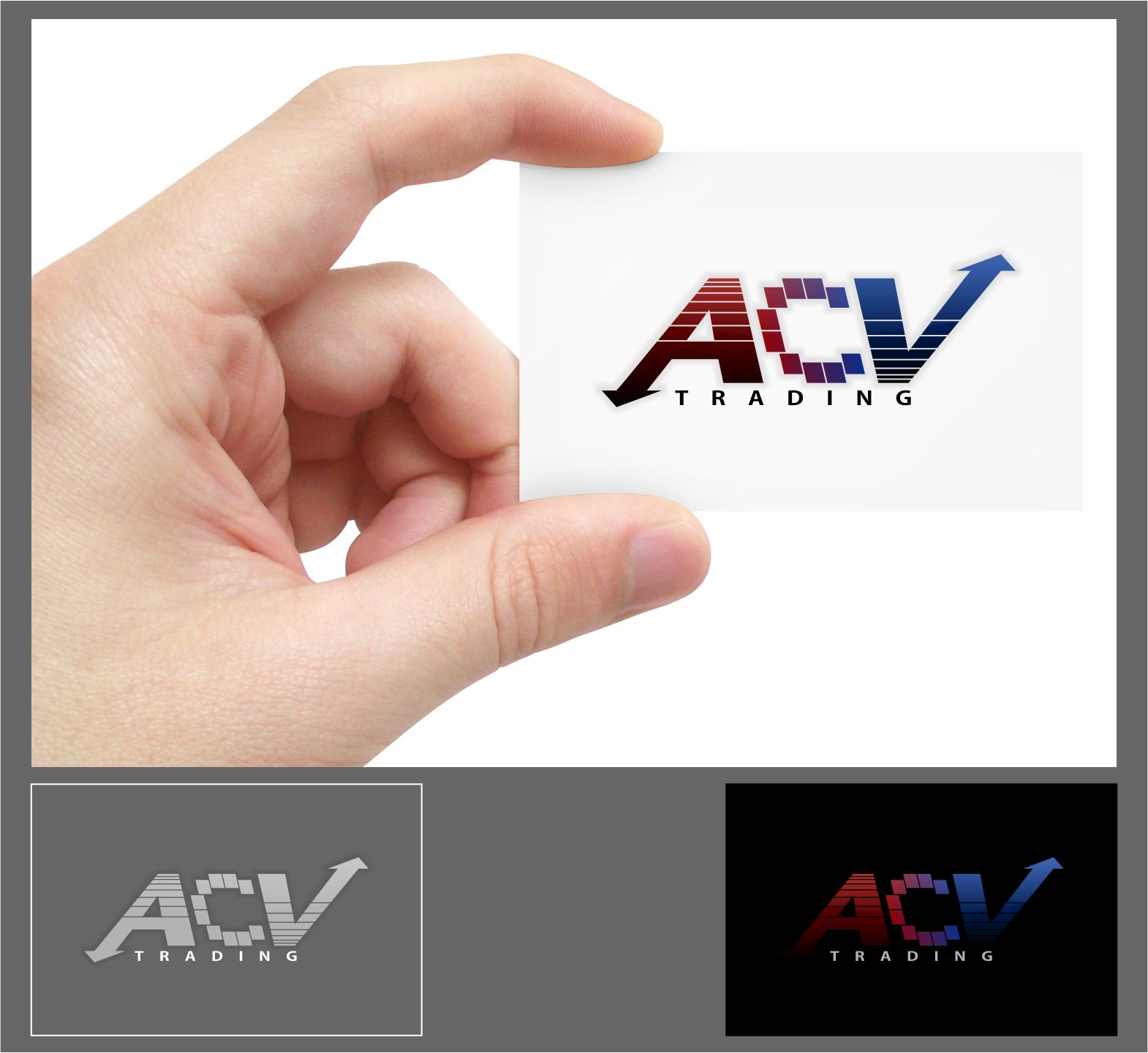 Logo Design by joca - Entry No. 27 in the Logo Design Contest Fun Logo Design for ACV Trading.