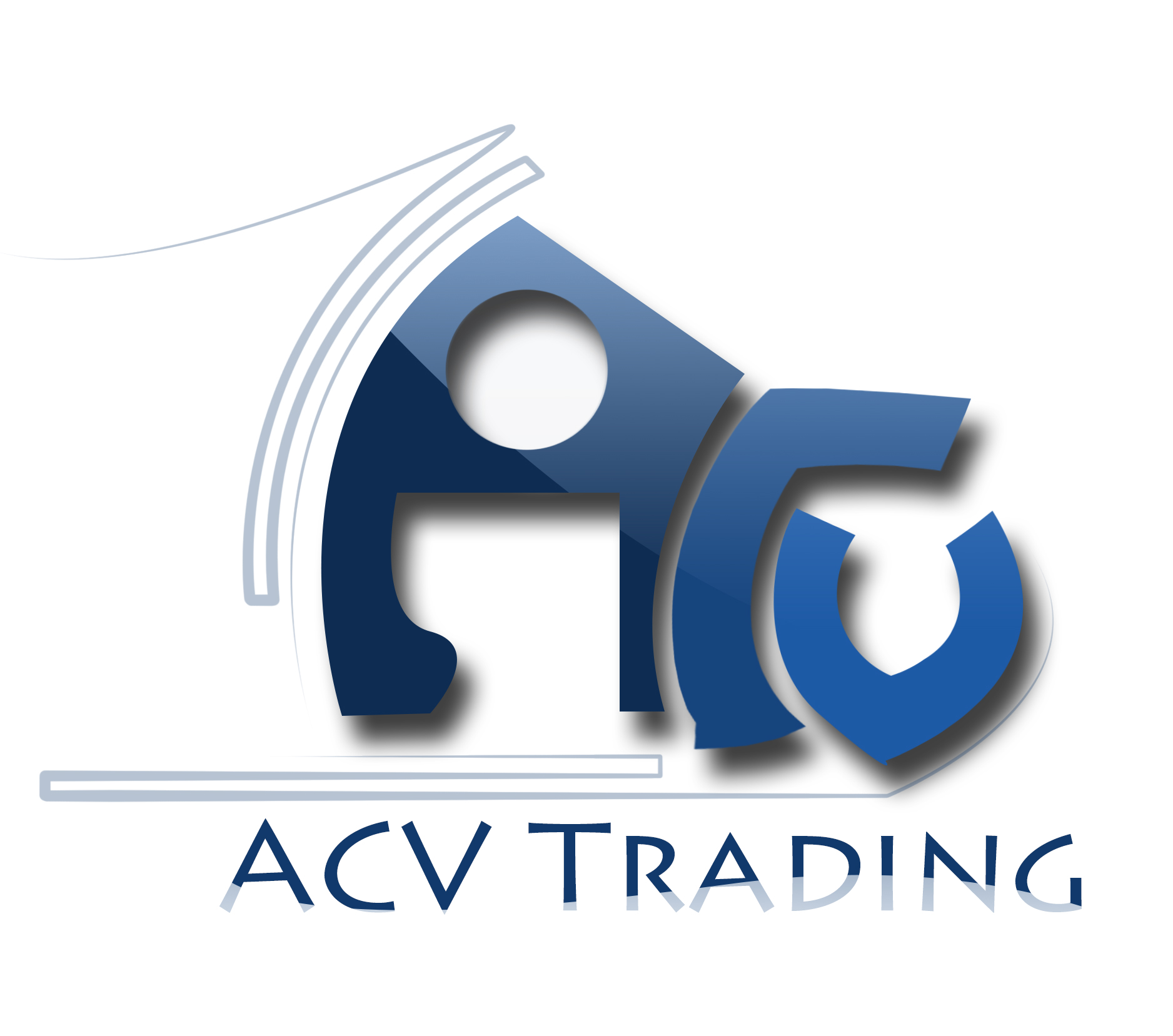 Logo Design by Satyaki Mandal - Entry No. 42 in the Logo Design Contest Fun Logo Design for ACV Trading.