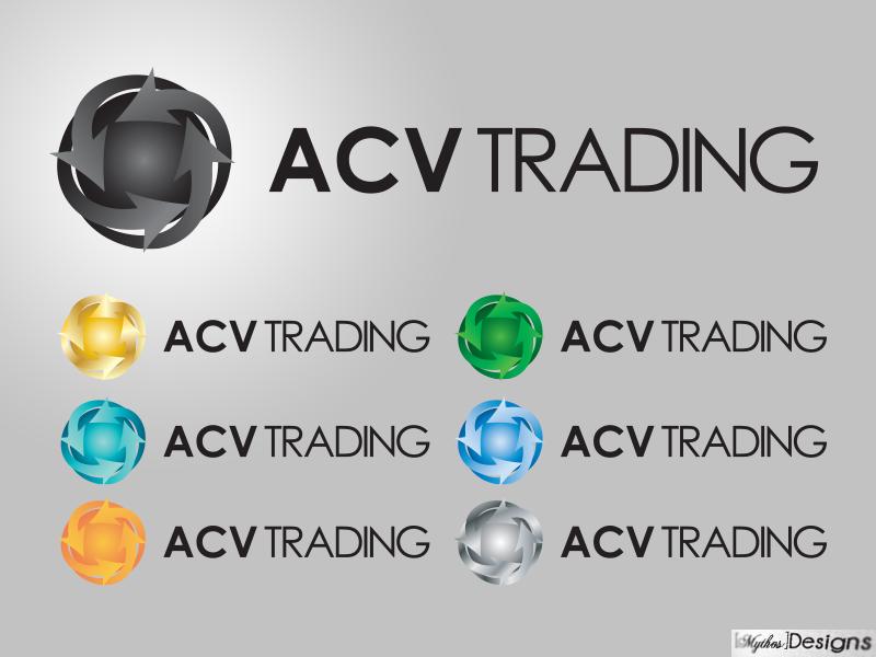 Logo Design by Mythos Designs - Entry No. 46 in the Logo Design Contest Fun Logo Design for ACV Trading.