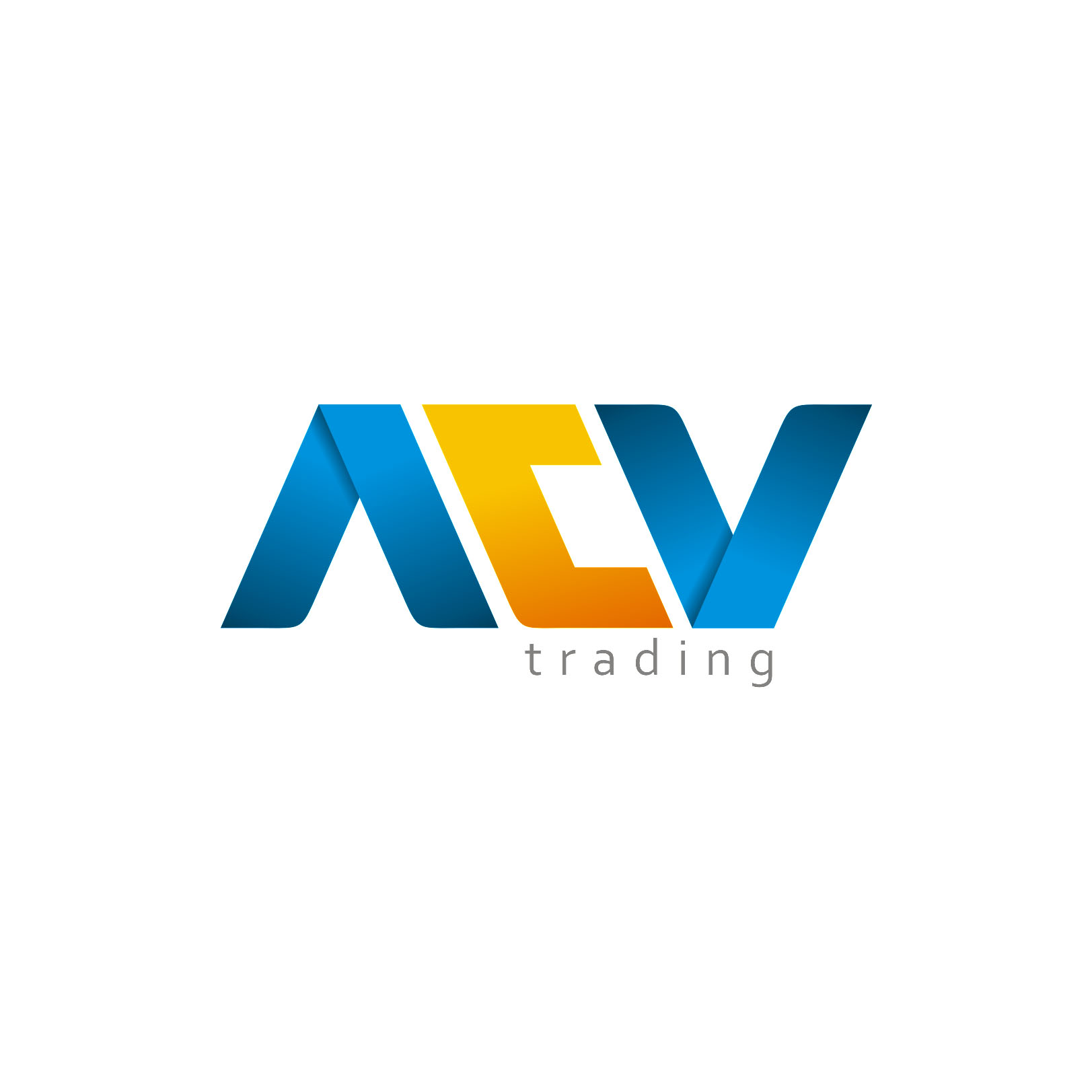 Logo Design by Private User - Entry No. 54 in the Logo Design Contest Fun Logo Design for ACV Trading.