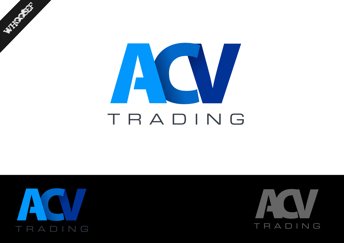 Logo Design by whoosef - Entry No. 65 in the Logo Design Contest Fun Logo Design for ACV Trading.