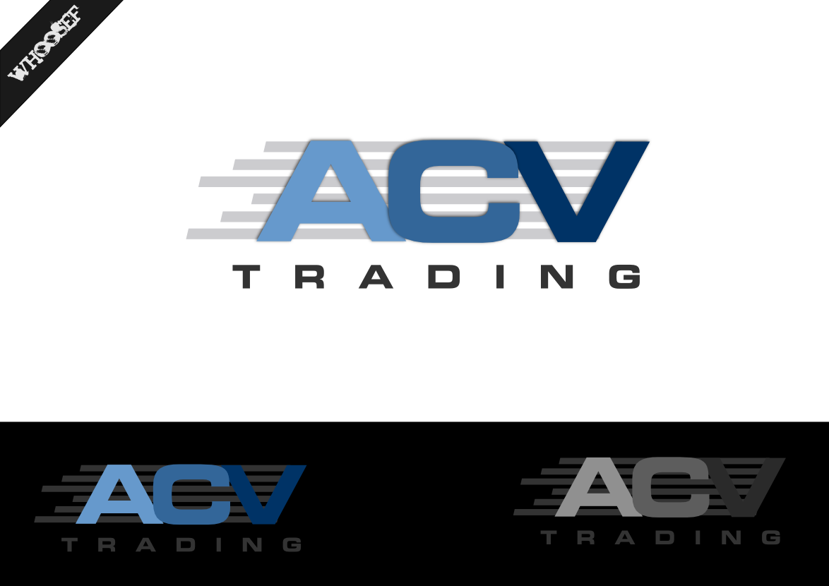Logo Design by whoosef - Entry No. 67 in the Logo Design Contest Fun Logo Design for ACV Trading.