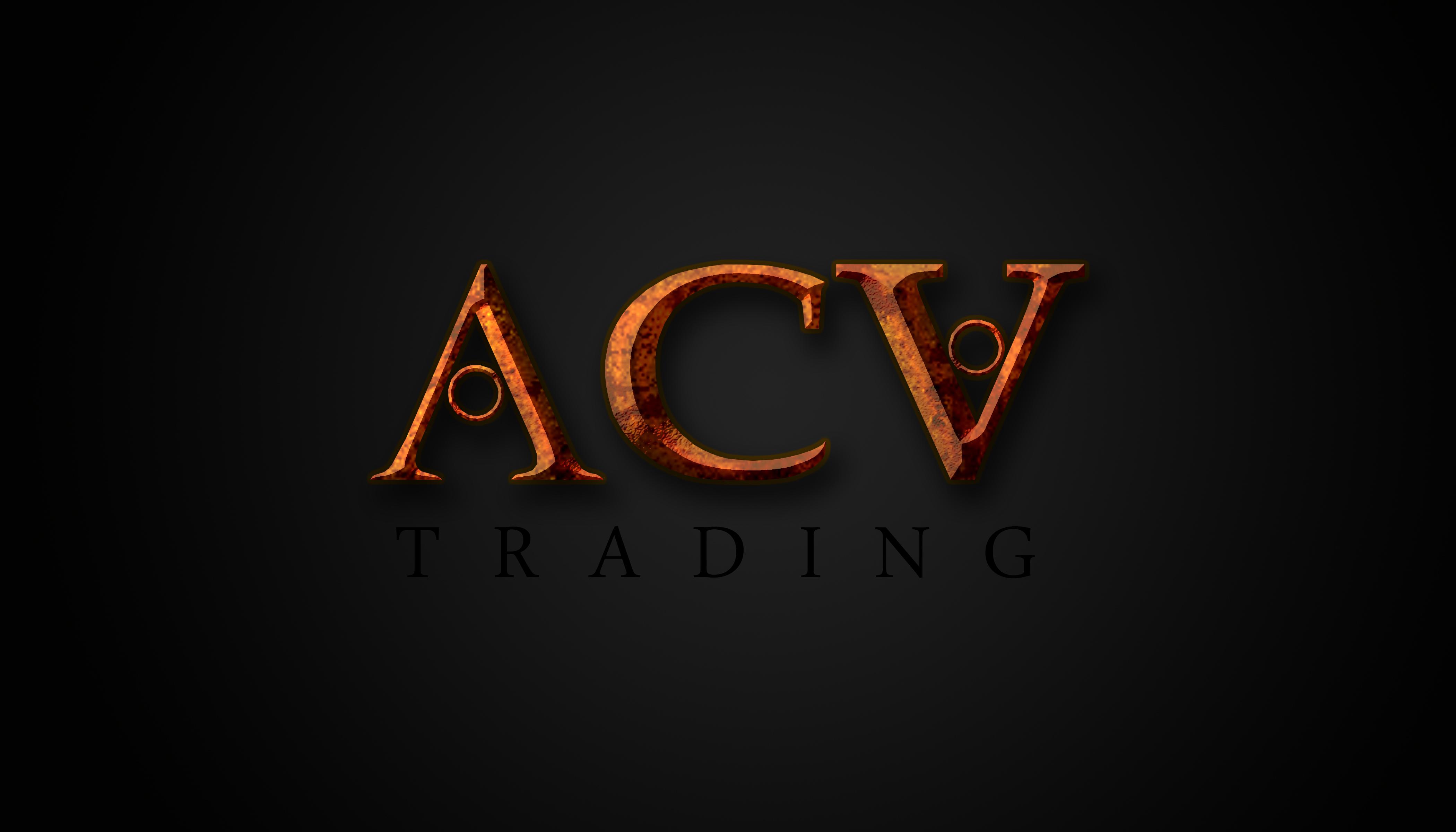 Logo Design by Jomar roy Villalobos - Entry No. 76 in the Logo Design Contest Fun Logo Design for ACV Trading.