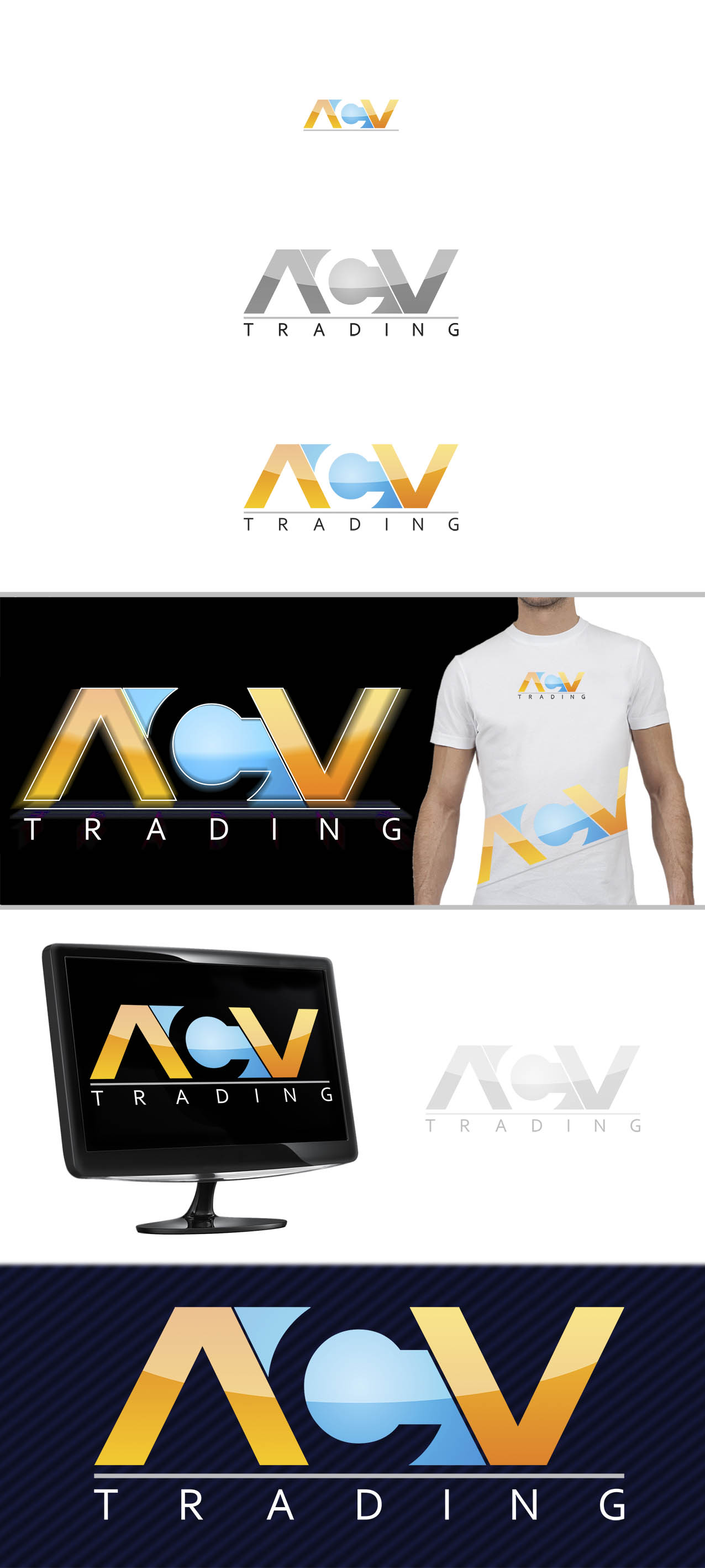 Logo Design by Srdjan Vojnovic - Entry No. 85 in the Logo Design Contest Fun Logo Design for ACV Trading.