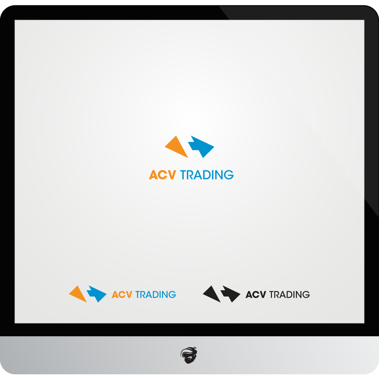 Logo Design by zesthar - Entry No. 92 in the Logo Design Contest Fun Logo Design for ACV Trading.