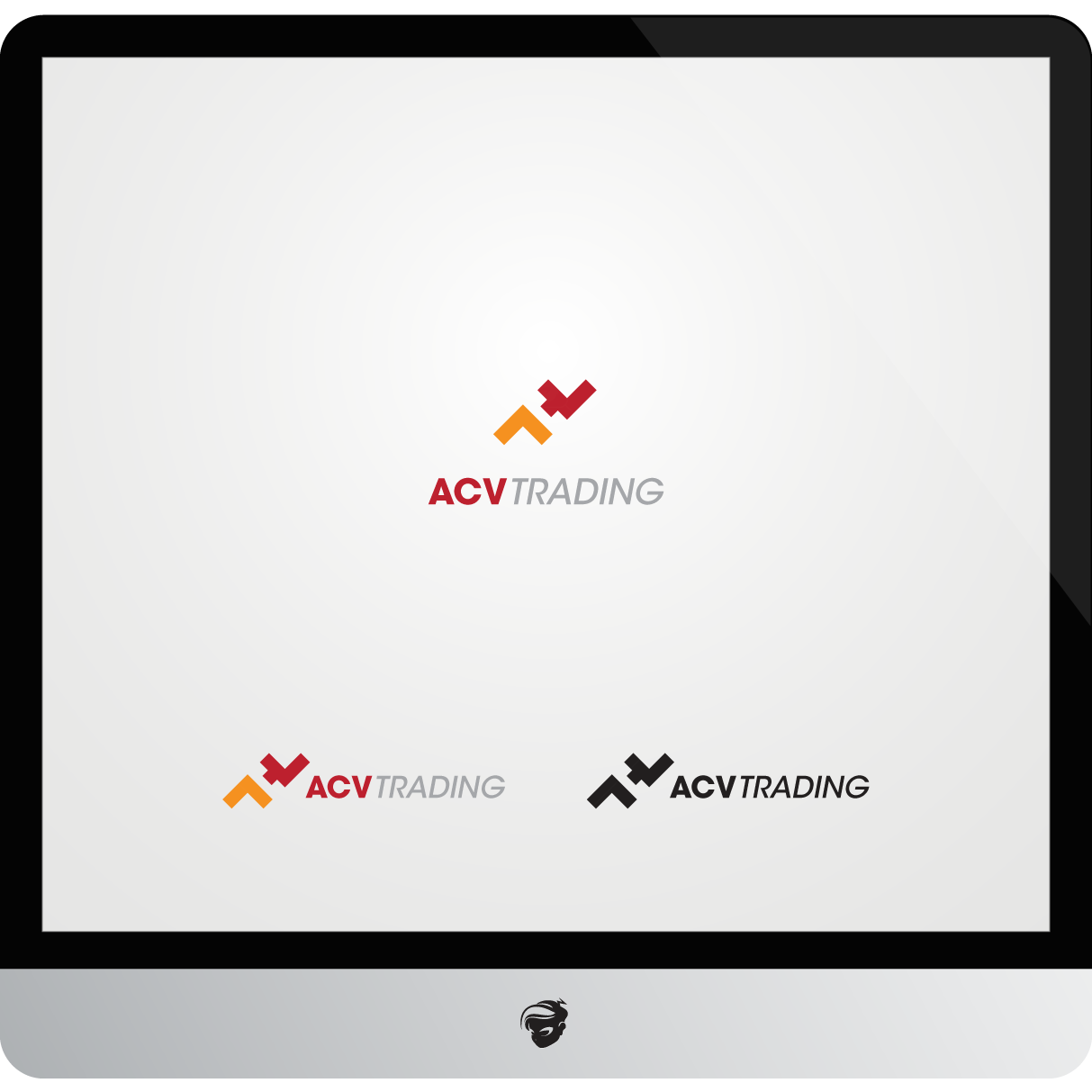 Logo Design by zesthar - Entry No. 93 in the Logo Design Contest Fun Logo Design for ACV Trading.