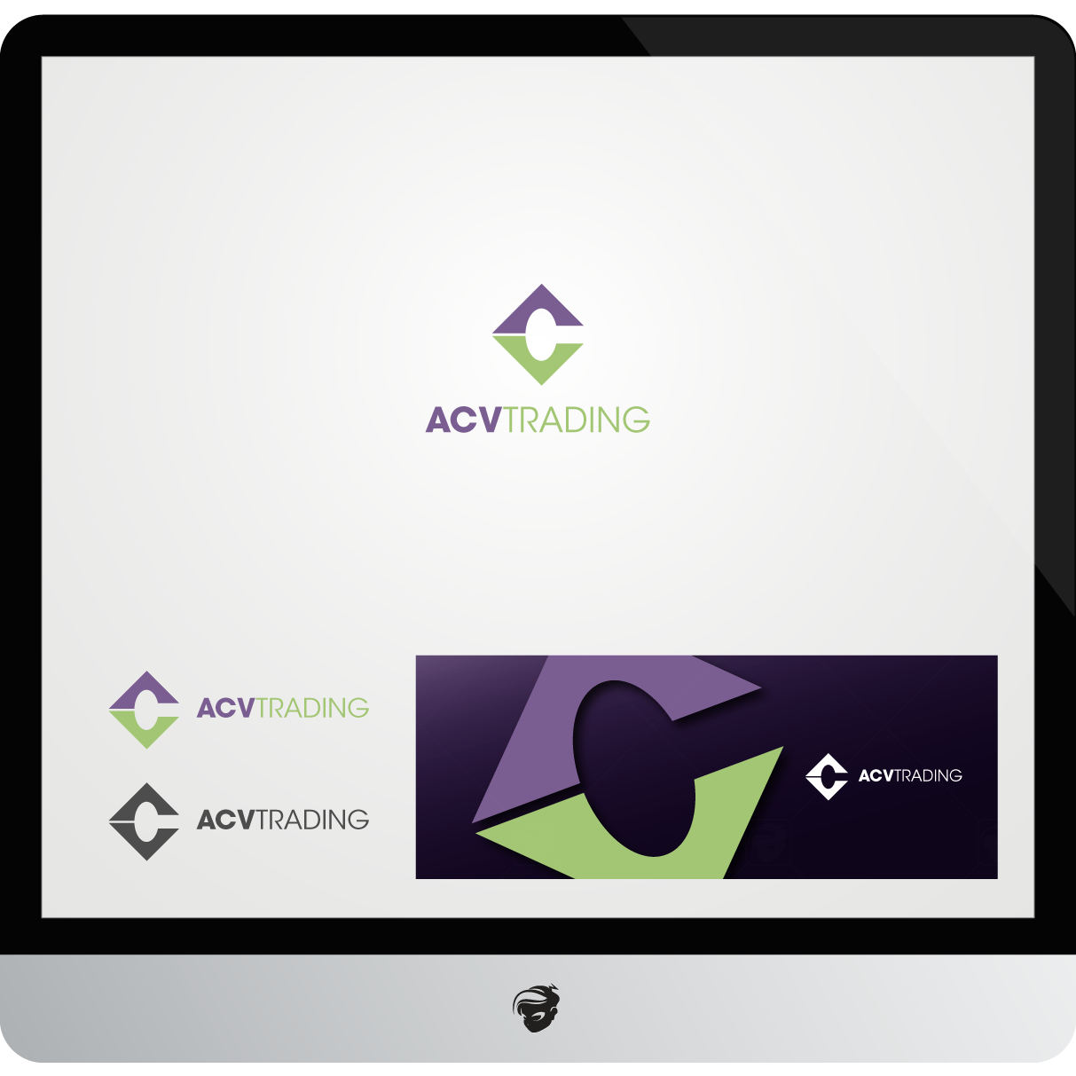 Logo Design by zesthar - Entry No. 98 in the Logo Design Contest Fun Logo Design for ACV Trading.
