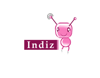 Logo Design by Crystal Desizns - Entry No. 45 in the Logo Design Contest Fun Logo Design for Indiz.