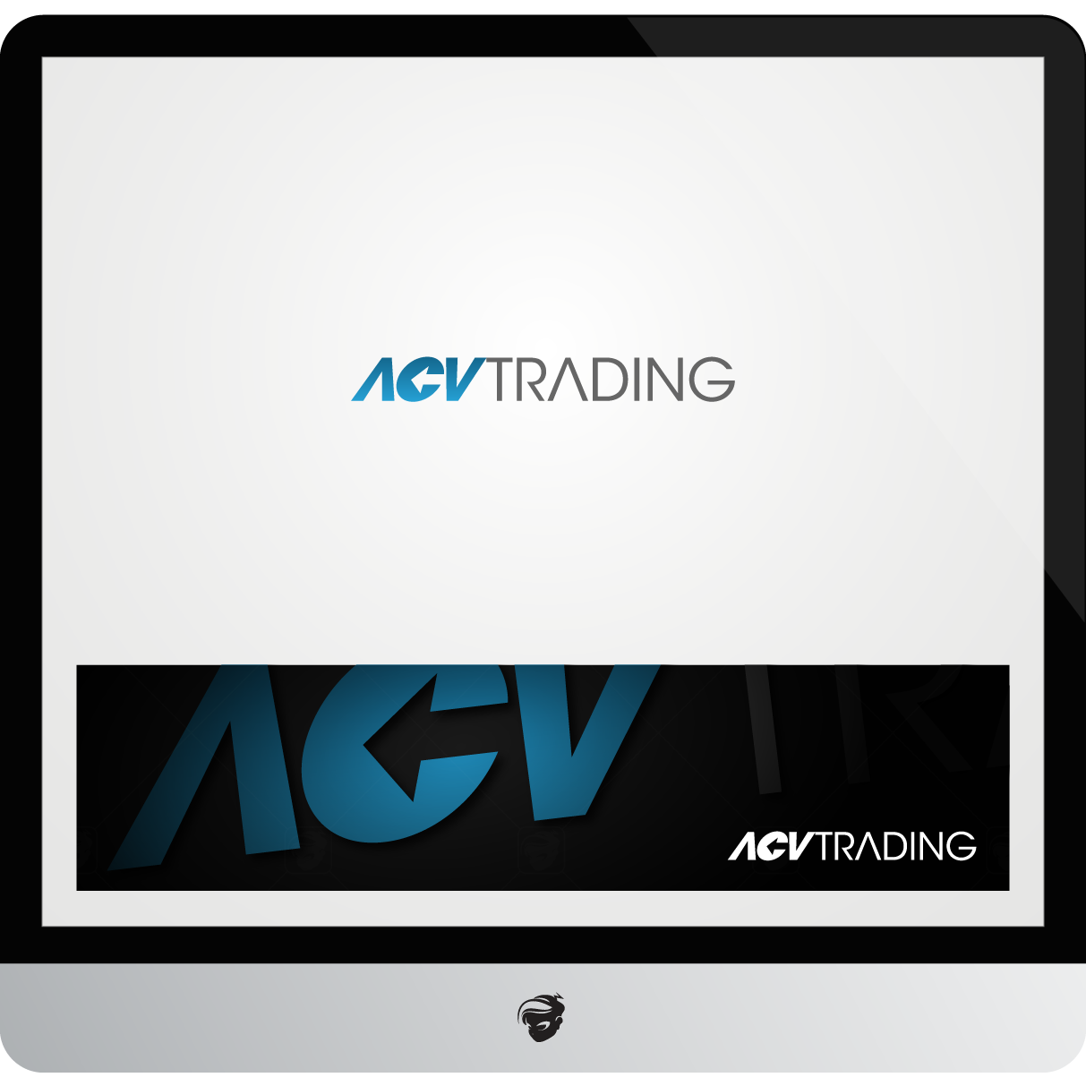 Logo Design by zesthar - Entry No. 104 in the Logo Design Contest Fun Logo Design for ACV Trading.