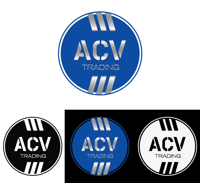 Logo Design by Dimitris Koletsis - Entry No. 119 in the Logo Design Contest Fun Logo Design for ACV Trading.
