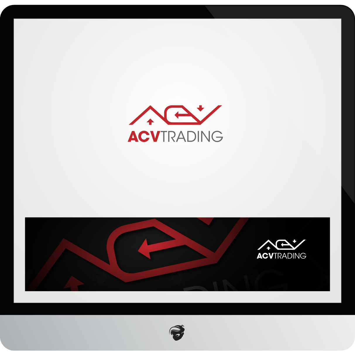 Logo Design by zesthar - Entry No. 131 in the Logo Design Contest Fun Logo Design for ACV Trading.