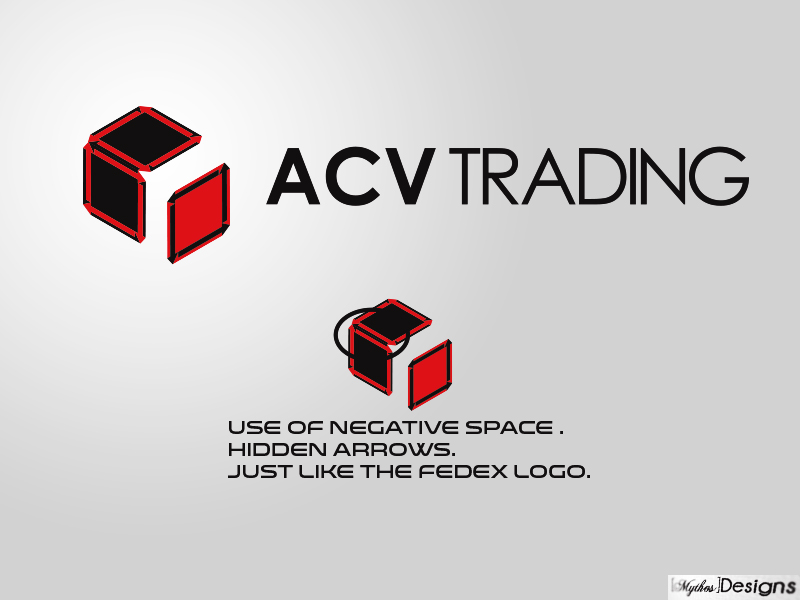 Logo Design by Mythos Designs - Entry No. 134 in the Logo Design Contest Fun Logo Design for ACV Trading.