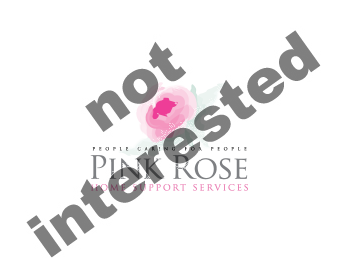 Logo Design by xpressions - Entry No. 76 in the Logo Design Contest Pink Rose Home Support Services.