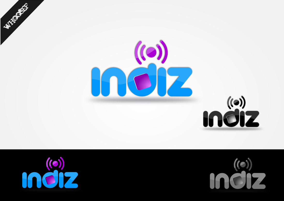 Logo Design by whoosef - Entry No. 105 in the Logo Design Contest Fun Logo Design for Indiz.