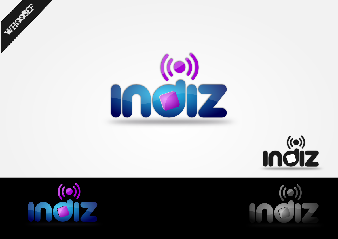Logo Design by whoosef - Entry No. 106 in the Logo Design Contest Fun Logo Design for Indiz.