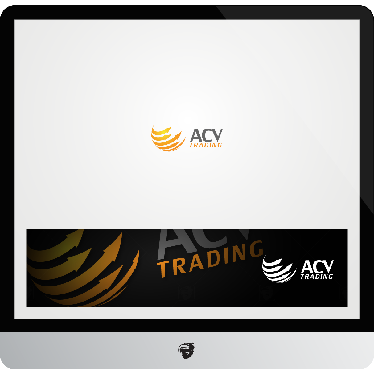 Logo Design by zesthar - Entry No. 150 in the Logo Design Contest Fun Logo Design for ACV Trading.