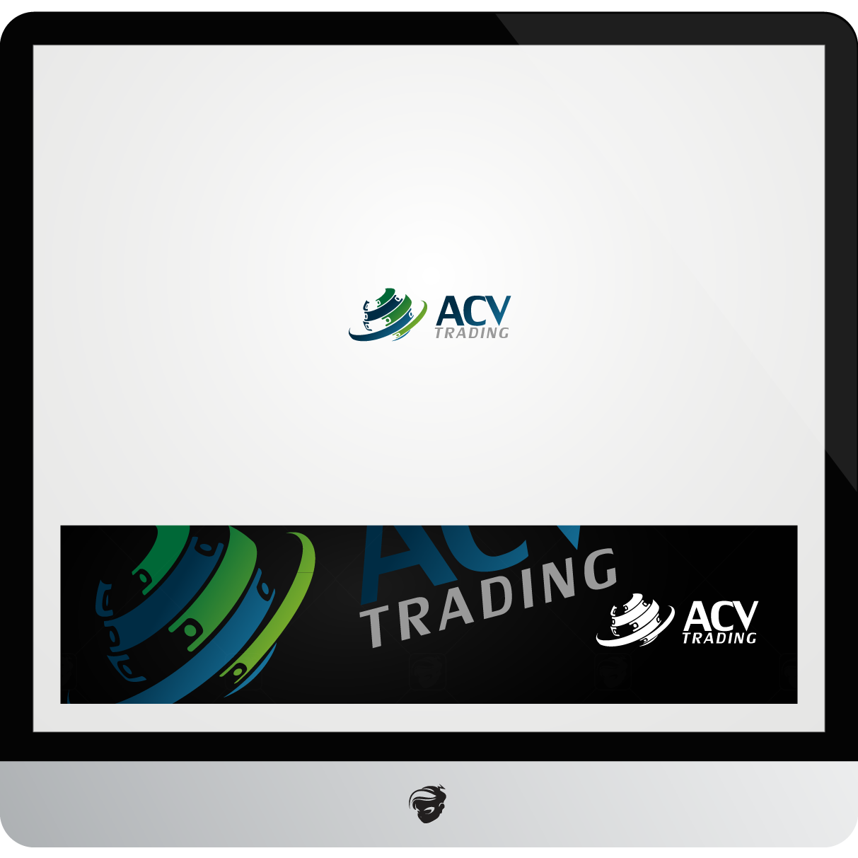 Logo Design by zesthar - Entry No. 151 in the Logo Design Contest Fun Logo Design for ACV Trading.