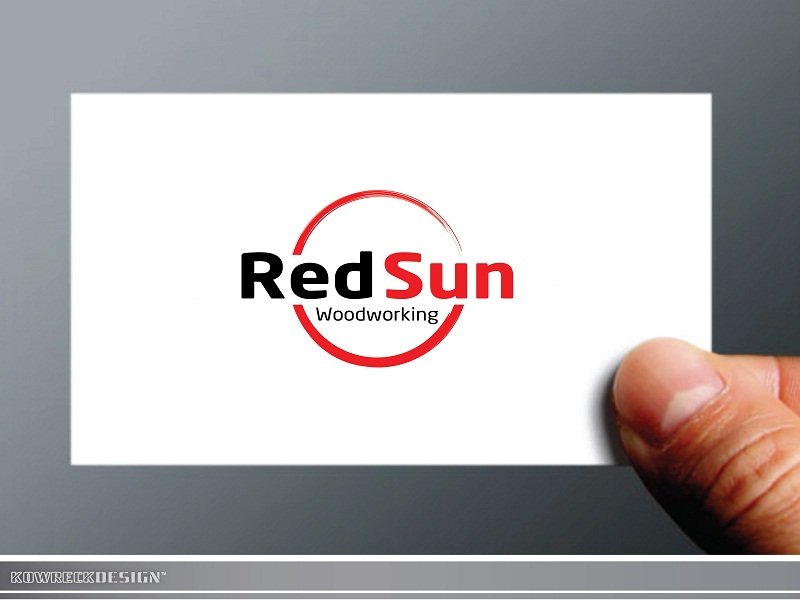 Logo Design by kowreck - Entry No. 16 in the Logo Design Contest Red Sun Woodworking Logo Design.