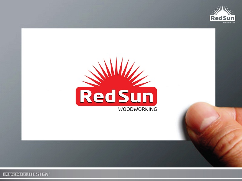 Logo Design by kowreck - Entry No. 21 in the Logo Design Contest Red Sun Woodworking Logo Design.