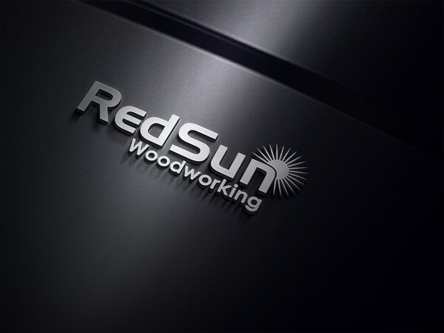 Logo Design by ninisdesign - Entry No. 22 in the Logo Design Contest Red Sun Woodworking Logo Design.